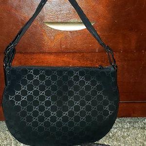 Gucci Vintage Suede Bag